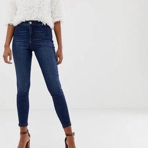 Miss Selfridge Steffi Super High Waist Skinny Jean